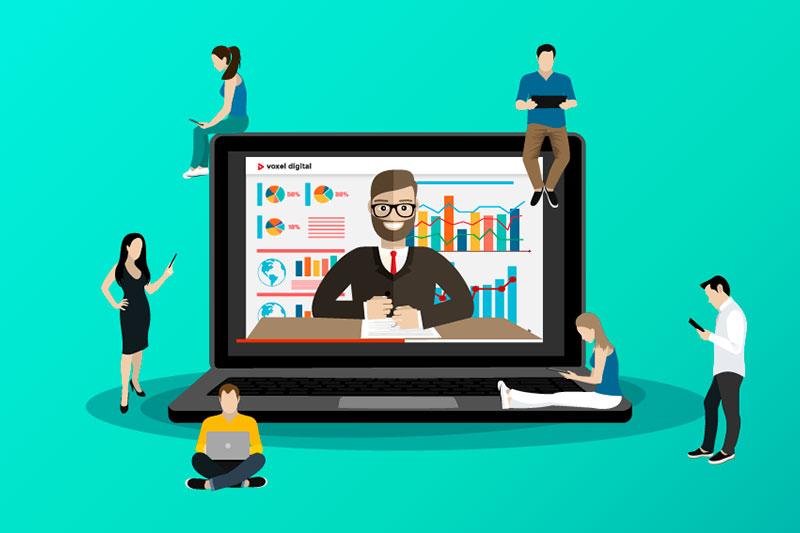 Treinamento corporativo e ensino online