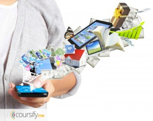 Mobile marketing as a strategy to sell online course