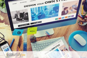 create slides for online courses
