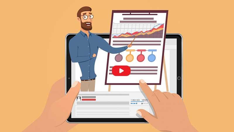 Lançamento de cursos online