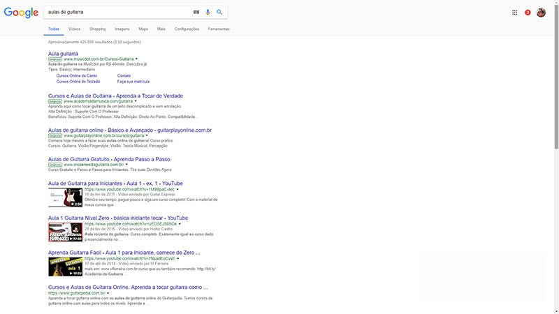 pesquisa para criar cursos online