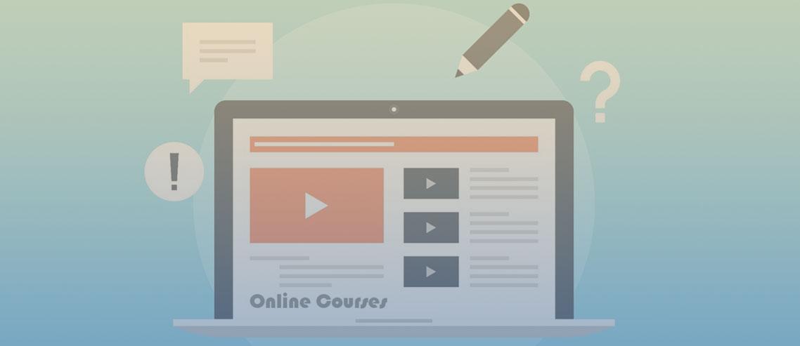 tipos de conteúdo para cursos online