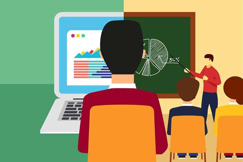 Ensino híbrido: Como sua escola pode unir o ensino online e presencial