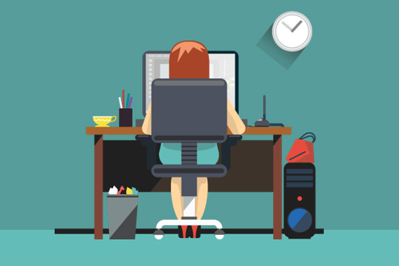 Work at home: how achieve this goal