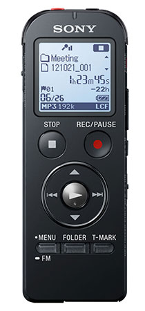 audio recorder Sony ICD-UX533
