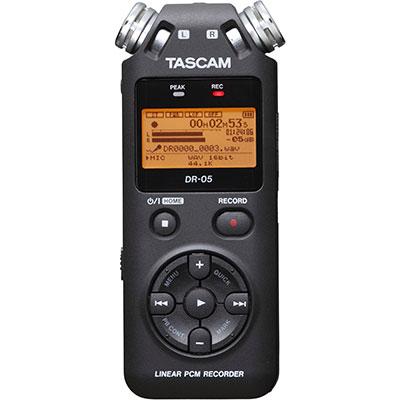 audio recorder TASCAM DR-05