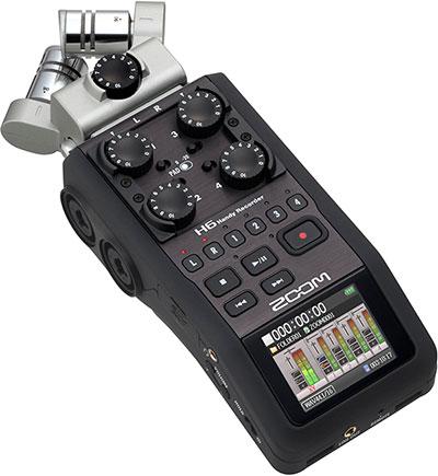 gravador de voz Zoom H6