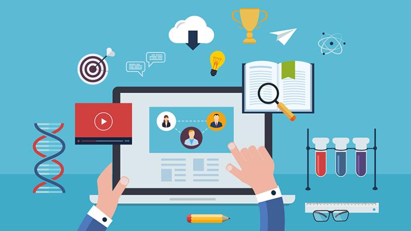 Elearning Platform for Online Training