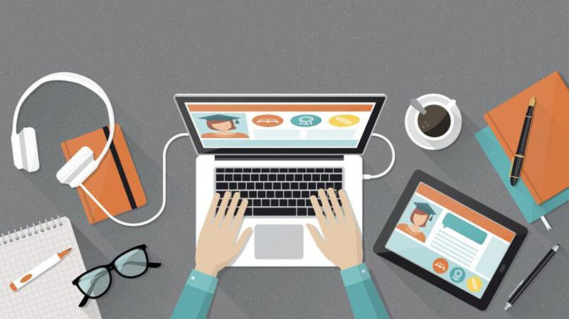 Hosting platform for online course
