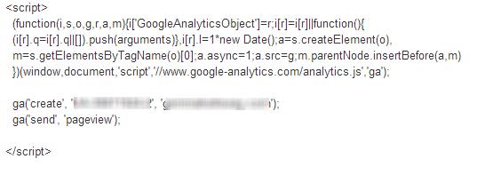 UA-Tracking-Code